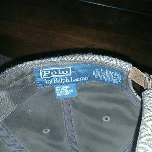 64005a808f6 Polo by Ralph Lauren Accessories - POLO RALPH LAUREN HERRINGBONE CAP W LEATHER  BRIM