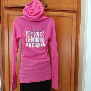 PINK Victoria's Secret Tops - Pink Victoria's Secret