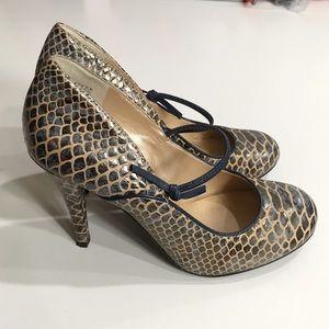 Rockport Snakeskin Heels w/Adiprene