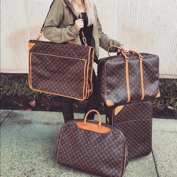 Louis Vuitton Bags Garment Travel Bag Poshmark