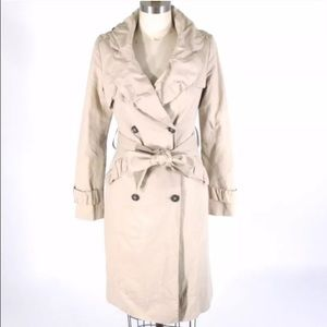 All Saints Jackets & Blazers - All Saints Spitafields Belted Trench