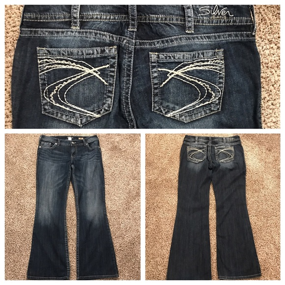 71% off Silver Jeans Denim - Silver Jeans &quotSuki&quot Size 34 from
