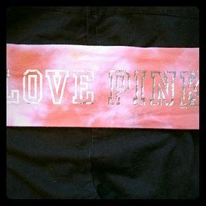🌸HOST PICK🌸Victoria's Secret Pink cropped