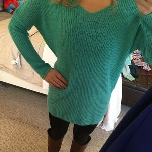 Ciso Sweaters - Teal sweater