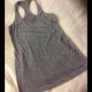 Lululemon Athletica Cool Racerback Striped Grey 4