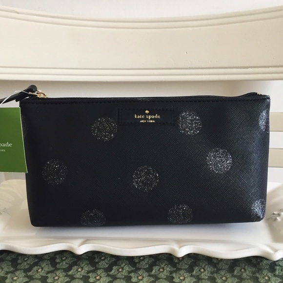 competitive price cae42 83d7b NWT Kate Spade Little Shiloh Makeup Bag NWT
