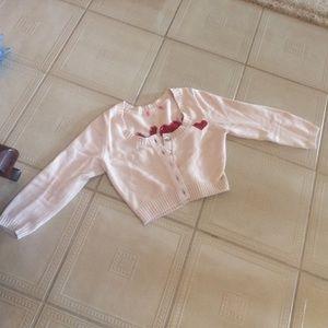 Betsey Johnson crop sweater