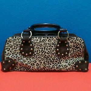 Valerie Stevens Handbags - Cheetah Print Pony Hair Purse