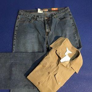 Faded Glory Denim - Faded glory boot cut jeans