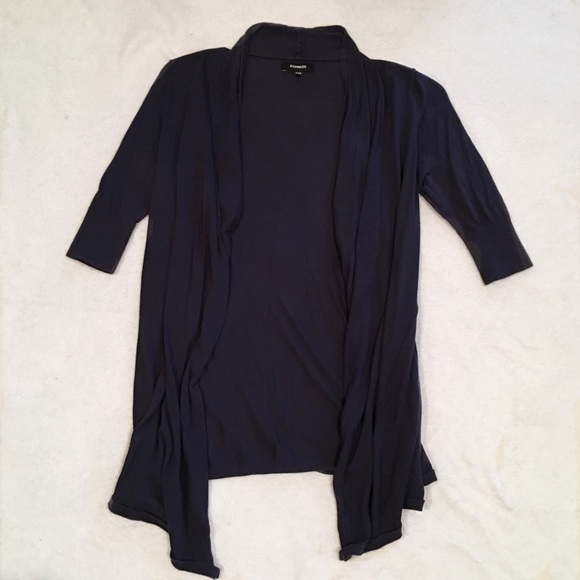 Express Sweaters - Dark Blue Express Cardigan