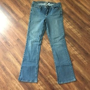 14L Faded Glory Stretch Bootcut Jeans