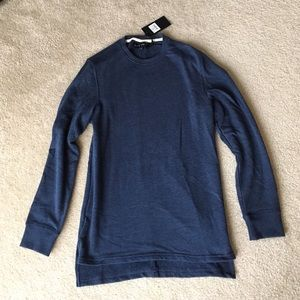 Five Four Other - Five Four Aldon Shirt, Small, heather navy