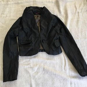 Forever 21 Leather Blazer