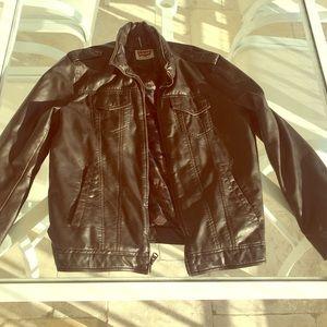 Levi's Other - Leather moto Jaket