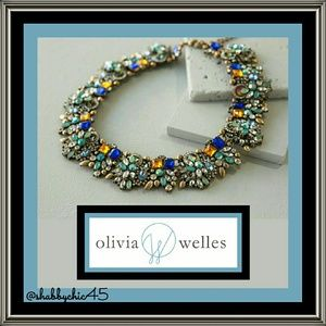 Olivia Welles Verena Bib Statement Necklace