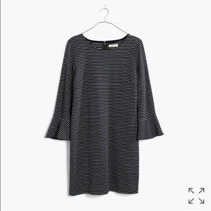 Madewell Dresses & Skirts - NWOT! Madewell Knit Bell Sleeve Dress