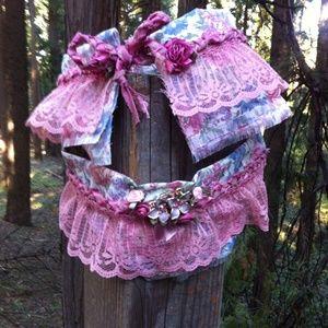kreativekristen  Accessories - HPdusty rosy boot cuffs