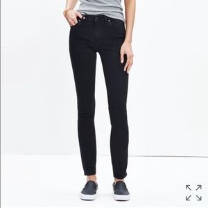 """Madewell Denim - Madewell 9"""" High Rise in Black Frost -- **TALL**"""