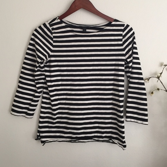 J. Crew Tops - Jcrew striped shirt