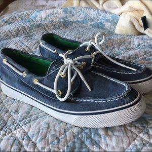 Sperry Top-Sider Shoes - PERFECT CONDITION Sperry Topsider Navy Size 7.5