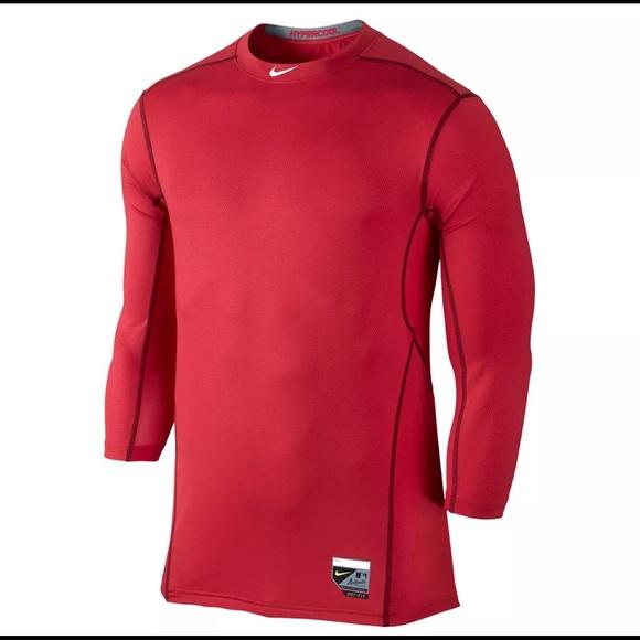 e5cfda20f Nike Pro Combat Men s PRO HYPERCOOL BASEBALL Shirt