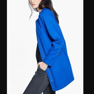 NWT! MANGO Royal Blue Coat