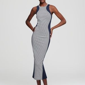 Torn by Ronny Kobo Dresses & Skirts - Torn by Ronny Kobo stripe midi Shiran dress