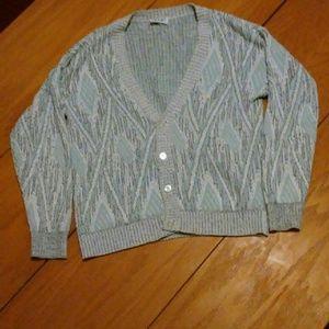 Other - Crazy pattern knit cardigan