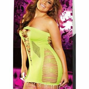 Lapdance Clubwear Backroom Mini Dress Plus Size