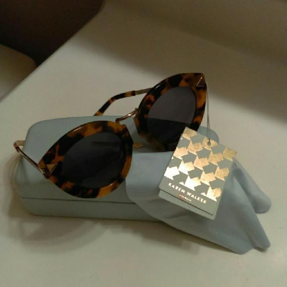 ddec4316d0aa Karen Walker Accessories - Karen Walker tort lunar FlowerPatch sunglasses