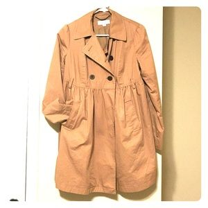 Liz Lange for Target Jackets & Blazers - Liz Lange Trench - Fits Maternity or L/XL Regular!