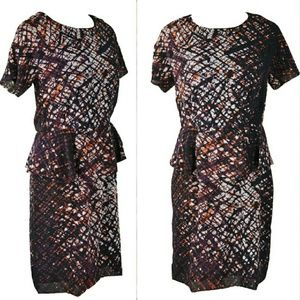 "Walter Baker Dresses & Skirts - Web Peplum ""Peggy"" Dress"