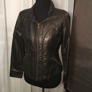 Gallery Vegan Leather Jacket PS