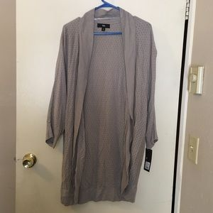 Mossimo Sweaters - Mossimo brand light gray cocoon sweater