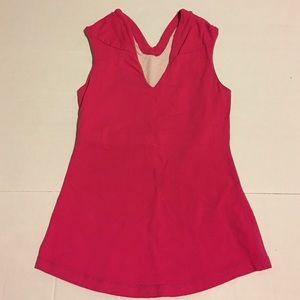 lululemon athletica Tops - Lululemon Pink Whisper V-neck Tank Top Sz 4