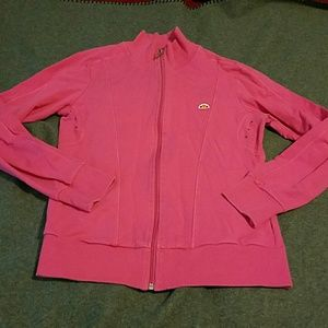 Ellesse Tops - Pink yoga sports jacket sz large