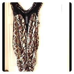 SWAK Dresses & Skirts - Sexy animal print dress