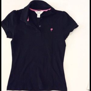 LILLY PULITZER Baby Maternity Polo SHIRT Small top