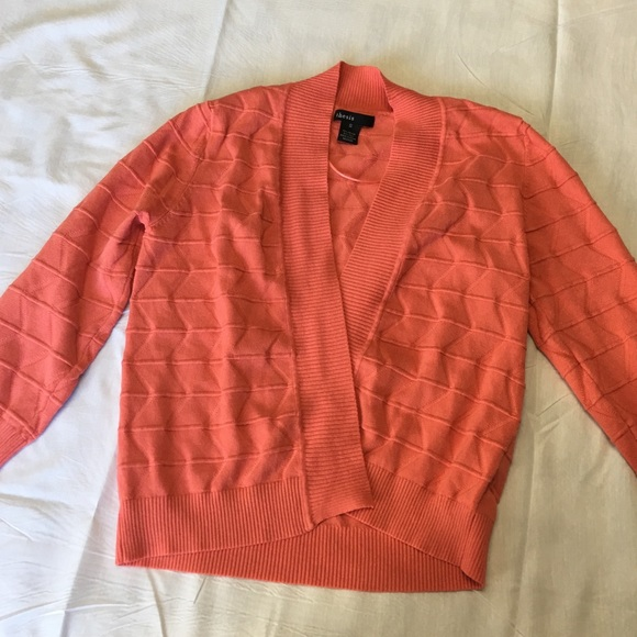 60% off thesis Sweaters - Cute Thesis Coral Cardigan Sweater from ...
