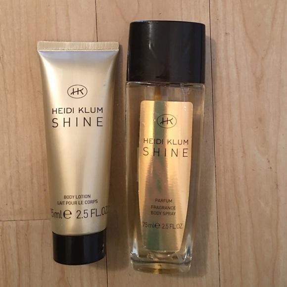 Heidi Klum Other Shine Perfume Body Lotion Poshmark