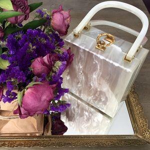 Vintage lucite Stylecraft purse
