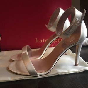 kate spade Shoes - BRAND NEW white Kate Spade bridal shoes