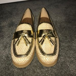 Tory Burch Shoes - Brand NEW Tory Burch gold tassel loafers