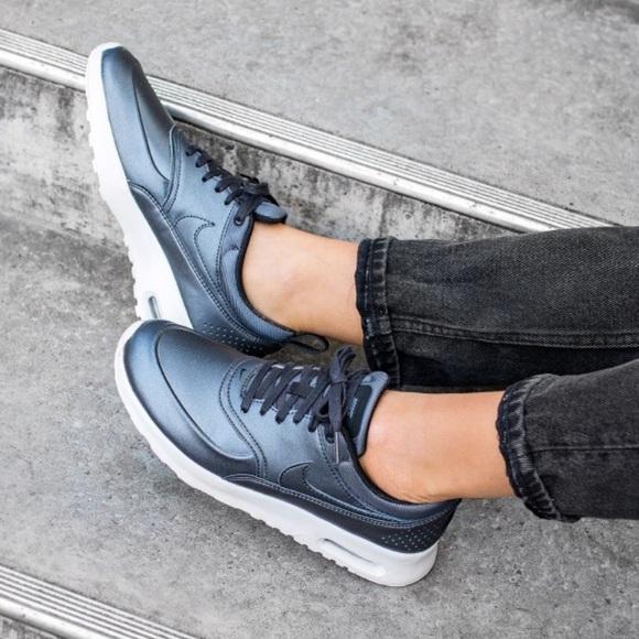 Women's Nike Air Max Thea Metallic Sneakers
