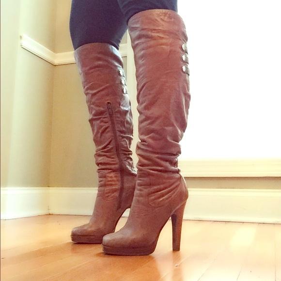 ab7c0d84516b Jessica Simpson Shoes   Tan Tulip Boots   Poshmark