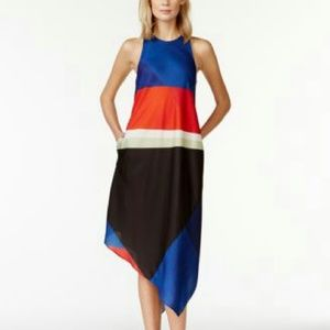 Sexy and comfy Rachel Roy. Colorblock dress