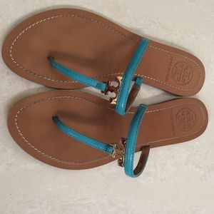 Tory Burch Shoes - Tory Burch T Thong Sandals. Size 6.5M