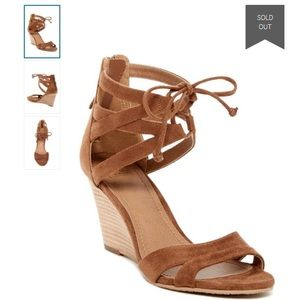 14th & union Shoes - 14th & Union strappy wedge heel