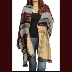 Oversized Scarf Wrap