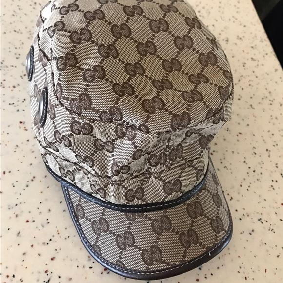 2682f42011a Gucci Accessories - Gucci Military Hat